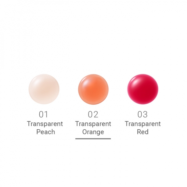 Naturaglacé Treatment Lip Oil 02 Transparent Orange