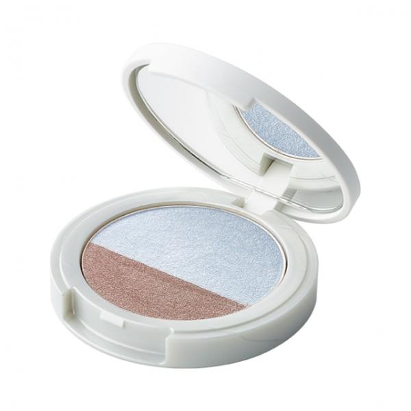 Naturaglacé Eye Color Duo 03, LightBlue x Grey Brown