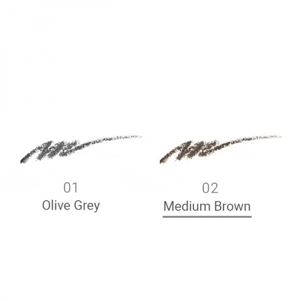 Naturaglacé Eyebrow Pencil Refill 02 Medium Brown