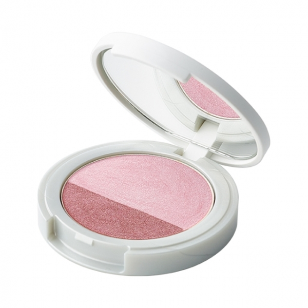 Naturaglacé Eye Color Duo 02, Pink x Cassis Brown