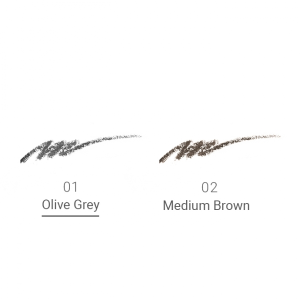 Naturaglacé Eyebrow Pencil Refill 01 Olive Grey