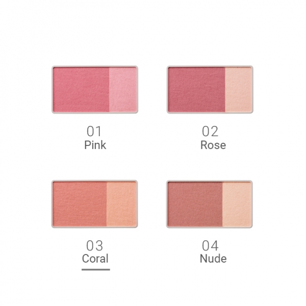 Naturaglacé Cheek Blush 03 Coral