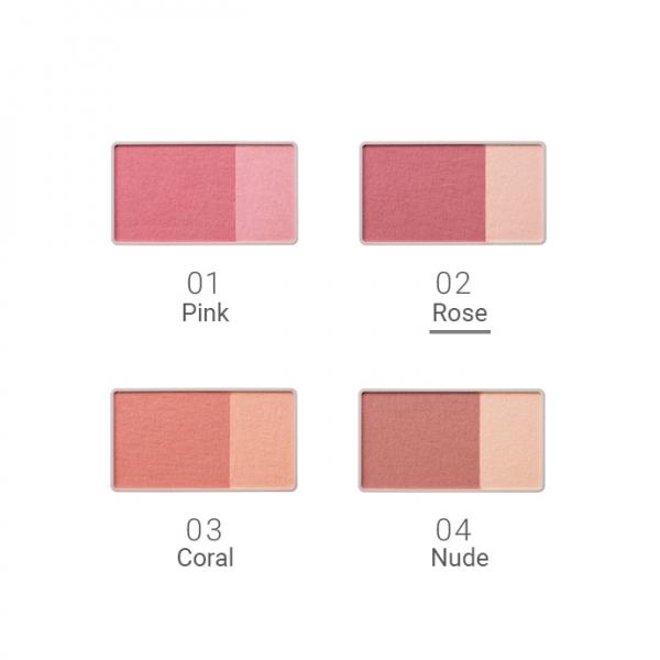 Naturaglacé Cheek Blush 02 Rose