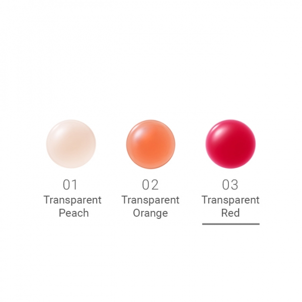 naturaglacé Treatment Lip Oil More 03 Transparent Red