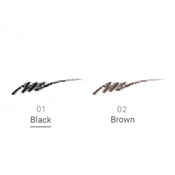 Naturaglacé Eyeliner Pencil Refill 01 Black