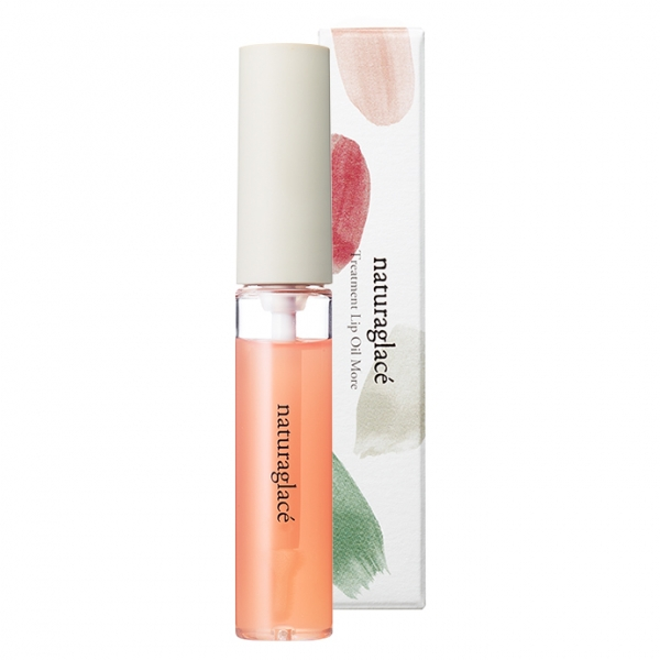 naturaglacé Treatment Lip Oil More 01 Transparent Peach