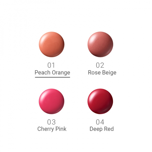 Naturaglacé Liquid Rouge 01 Peach Orange